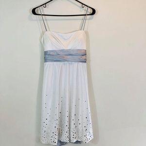 JUMP Apparel White Cocktail-Prom Dress SZ 7/8